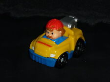 Fisher Price Little People Wheelies Tow Truck Driver Yellow