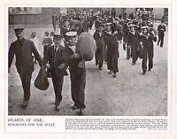 1914 Stampa WWI ~ Navale Reservists Guardia Costiera Libertà Uomo Giunzione Navi