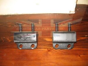 Pair of New Engine Motor Mount Mounts for TR6 GT6 TR250 TR8 Uprated Heavy Duty