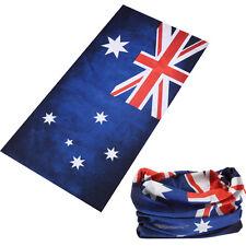 Australia Flag Face Mask Shield Tube Bandana Neck Scarf Headwear Warmer Fishing