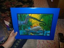 Jungle book Lithograph Disney Store walt disney the jungle book