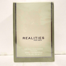 Realities for Men By Realities Cosmetics Cologne Spray 1.7 oz NEW