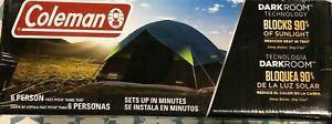 Coleman 1262673 6-Person Dark Room Fast Pitch Sundome Tent  New Open Box