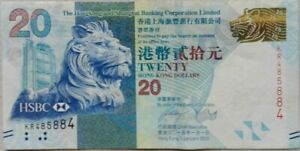 Hong Kong 2013 HongKong & Shanghai Bank $20 KR 485884
