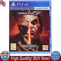 Tekken 7 PS4 Playstation Four VR Compatible Game Standard Edition 16+ New Brand