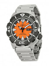 SEIKO SUPERIOR AUTOMATIC ORANGE MONSTER DIVER'S 200M STEEL WATCH SRP315 SRP315K2