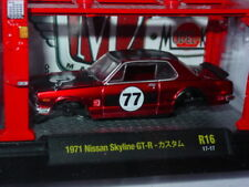 M2 MACHINES AUTO JAPAN IMPORT 1971 71 NISSAN SKYLINE GT-R BUILD IT KIT 1/64