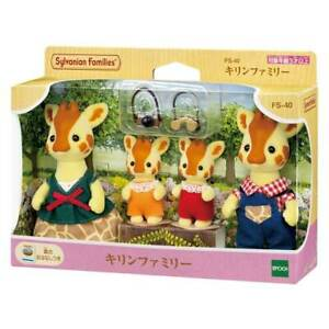 Sylvanian Families GIRAFFE FAMILY Calico Critters FS-40 Japan