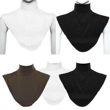3 Pieces Women Stretchy Detachable Turtleneck Faux Collar Dickies Neck