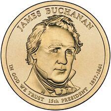 2010 JAMES BUCHANAN PRESIDENT DOLLAR P or D 1-COIN BRILLIANT UNCIRCULATED
