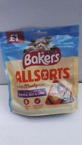 6x 98g Bakers Allsorts Dog Treats by Purina.