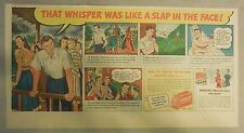 Lifebuoy Soap Ad: That Whisper Was Like A Slap In The Face ! from 1940's