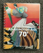 VERY Rare  Collectable UNUSED Large Taschen All American Ads 70s Diary Book 2005