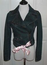 R.E.D. Valentino Women's Jeans Jacket  Size 40 Color Blue Excellent Condition
