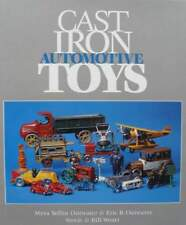 BOEK/LIVRE : Cast Iron Automotive Toys (oude speelgoed auto,Jouets automobiles