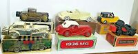 Avon Bottle Antique Cars Vehicle Decanter Vintage Lot of 6 with Original Boxes