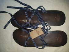 A Genuine Brandnew Hollister Summer Female Moses Brown Sandals Size-7