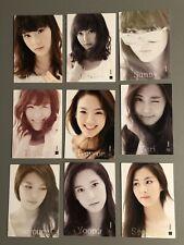 SNSD Official Star Card Photocard Taeyeon Jessica Tiffany Yoona Sooyoung Hyoyeon