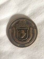 101st Airborne Rendezvous with Destiny Vietnam Era Army Challenge Coin A24