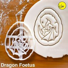 Dragon Baby Cookie Cutter | jeu fossilisé Thrones foetus Fetus OEUFS OEUF biscuit
