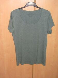 Damen T-Shirt Größe 46 von Primark Atmosphere Basic grün