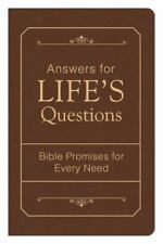 Answers for Life's Questions: Bible Promises for Every Need (Paperback or Softba