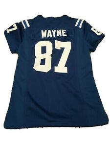 Boys Nike NFL Indianapolis Colts Reggie Wayne Football Jersey Size Small Sewn