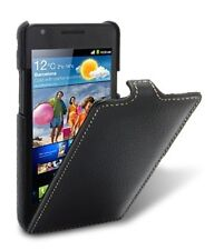 Melkco-Samsung Galaxy S2 / I9100  Leather Case  Jacka Flip Type Black