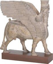 Assyrian Winged Bull Lamassu Replica Statue 8.5H T87650