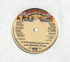 """Donna Summer Barbara Streisand-no más lágrimas 7"""" SGL"""