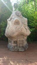 Gartenfigur Feenhaus Haus Feengarten Fee Elfe Figur Garten Fairyhouse Gross
