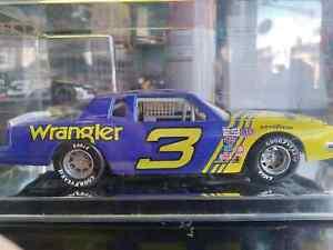 Dale Earnhardt #3 Wrangler Jeans 1981 Pontiac Grand Prix 1/24 With Display case
