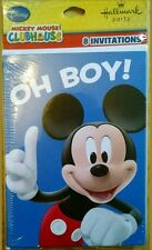 *Disney's Mickey Mouse Birthday Party Invitations Hallmark *NIP!*