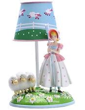 Disney Pixar Toy Story 4 Bo Peep Doll & Sheep Kids Bedroom Table Lamp Brand New