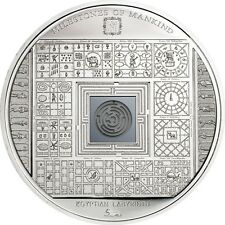 Cook Islands 10 Dollars, 50 g Silver Proof Coin, 2016,Milestones of Mankind,QEII