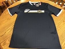 Philadelphia Union Adidas 2016 Mls Jersey Tee-Shirt - Navy, Size Large, Nwt