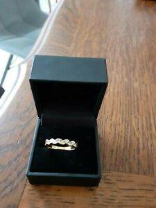superbe bague alliance americaine or 18 cts