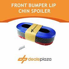 2.3M PVC CARBON/BLUE SPOILER SPLITTER BODY KIT AIR WING FRONT/REAR/SKIRTS