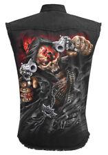 Spiral Direct 5FDP- ASSASSIN - Licensed Worker Vest Five Finger Death Punch/Top