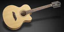 Legacy Jumbo a Sitka Spruce 12-String Cutaway VINTAGE TRASPARENTE satin Natural