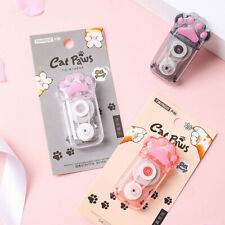 White Out Cute Cat Claw Correction Tape Pen School Office Supplies M1