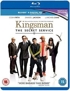 The Kingsman Secret Service Blu-ray or DVD - Brand New - Fast and Free Delivery