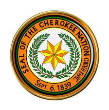 Cherokee Nation (Tribe) Pin Badge