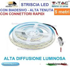 STRISCIA STRIP LED 60 120 240 Led x Metro Bobina da 5 metri Pro VTac SMD high