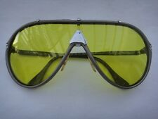 VINTAGE DERAPAGE 63 SILVER VITALONI FULL MIRROR LENSES 80'S MADE IN ITALY