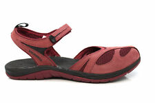 Womens Merrell Siren Wrap Burgundy Red Closed Toe Active Sandals