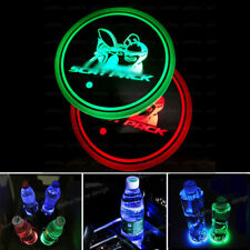 Led Car Cup Holder Pad Mats Auto Atmosphere Lights Colorful Fit Dodge Scat Pack (Fits: 2010 Charger)