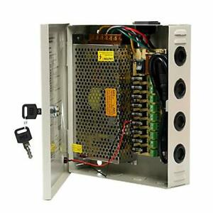 Ares Vision 9 Channel/Port 10 AMPS 12V DC Power Supply Box Individually Fused...