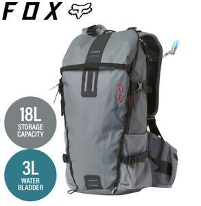Fox UTILITY Hydration Pack Steel Grey - Large 18L (3L Reservoir)