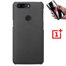 Sandstone Original Slim Hard Back Case Cover+Screen Protector For OnePlus 5T 6 7